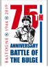Logo 75 jaar Slag om Ardennen