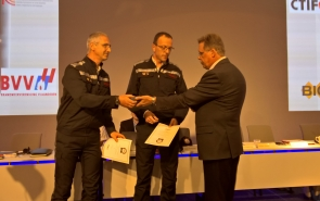 CTIF Best practice Award pour les cartes d'action 'Incidents impliquant des conduites souterraines'.