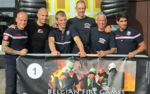 Schreiben Sie sich jetzt für die Belgian Fire Games vom 17. September 2016 ein!