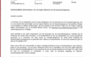 Opleiding Militair Administrateur voor de hogere officieren van de hulpverleningszones