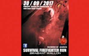 Survival Firefighter Run Brabant Wallon 2017