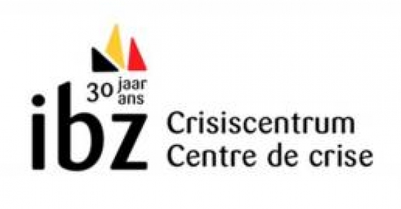 Logo 30 jahren Crisiscentrum